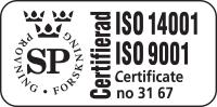 ISO certifierad - 4Sign Gammelstad