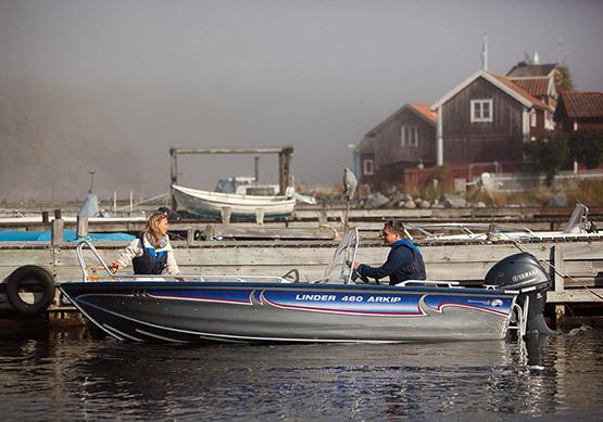 Historien som ledde fram till Linder Aluminiumbåtar