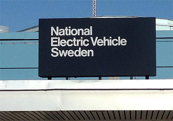 Omprofilering från Saab Automobile till Nevs